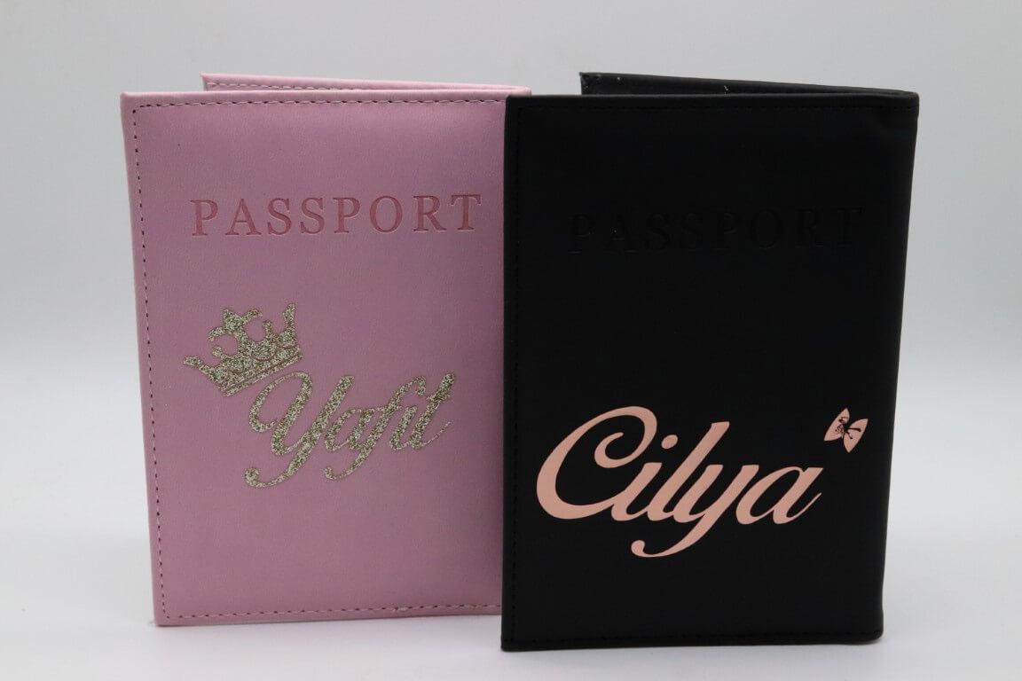 כיסוי דרכון עם שם אישי