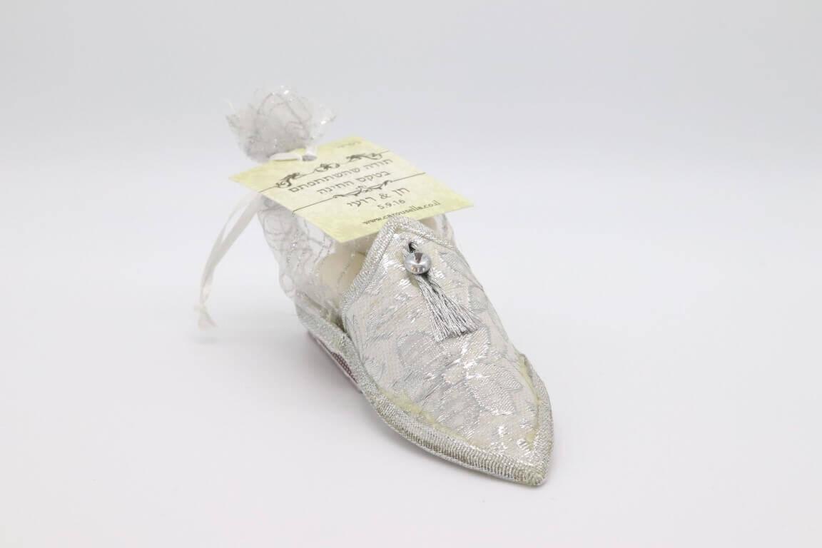 נעל מרוקאית במילוי דרז'ה והקדשה אישית